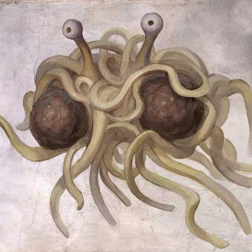 flying spegetti monster