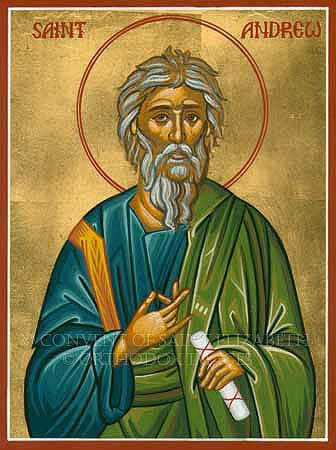 Saint Andrew the first-called Apostle