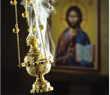 Where does the Bible talk about burning incense?