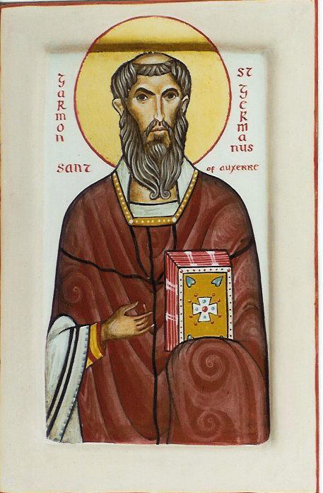 ), επίσκοπος της auxerre , γαλλία († 448