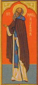 sveti Melrub - opat, misijonar in mučenec